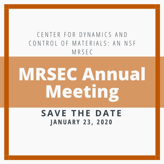 CDCM MRSEC Annual Meeting
